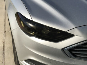 2017-2018 FORD FUSION HEADLIGHT PRECUT TINT OVERLAYS