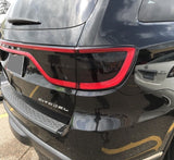 2014-2018 Dodge Durango Taillight Smoke PreCut Vinyl Tint Overlay Smoked Kit