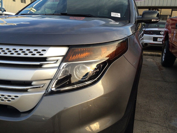 2011-2015 FORD EXPLORER HEADLIGHT PRECUT TINT OVERLAYS