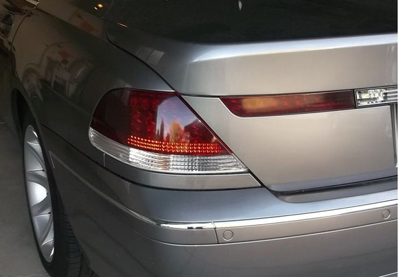 2003-2005 BMW 7 SERIES TAIL LIGHT PRECUT TINT OVERLAYS