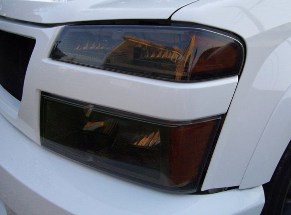 2004-2012 CHEVY COLORADO HEADLIGHT PRECUT TINT OVERLAYS