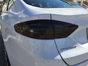 2013-2016 FORD FUSION TAIL LIGHT PRECUT TINT OVERLAYS