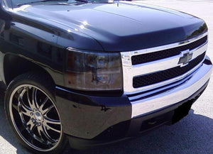 2007-2013 CHEVY SILVERADO HEADLIGHT PRECUT TINT OVERLAYS