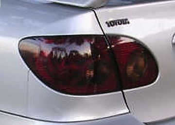 2003-2006 TOYOTA COROLLA TAIL LIGHT PRECUT TINT OVERLAYS