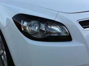 2008-2012 CHEVY MALIBU HEADLIGHT PRECUT TINT OVERLAYS w/ CUTOUT