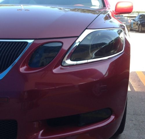 2006-2011 LEXUS GS HEADLIGHT PRECUT TINT OVERLAYS