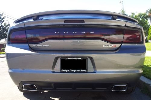 2011-2014 DODGE CHARGER SMOKE TAIL LIGHT PRECUT TINT COVER SMOKED OVERLAYS
