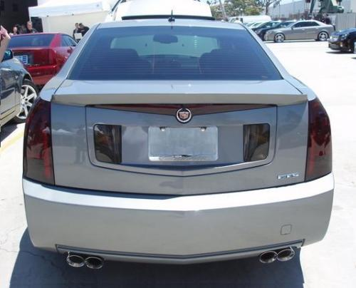 2003-2007 CADILLAC CTS TAIL LIGHT PRECUT TINT OVERLAYS FULL REAR KIT