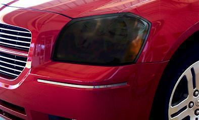 2005-2008 DODGE MAGNUM HEADLIGHT PRECUT TINT OVERLAYS