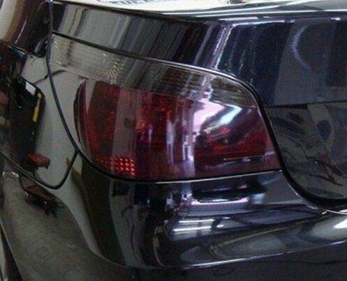 2004-2010 BMW 5 SERIES E60 TAIL LIGHT PRECUT TINT OVERLAYS