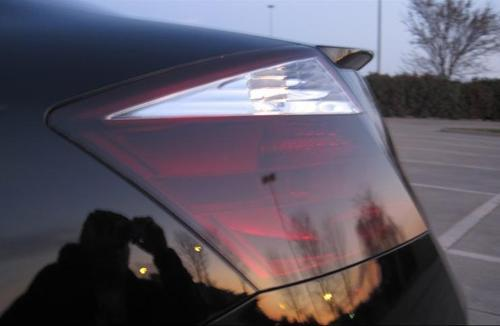 2008-2010 HONDA ACCORD COUPE TAIL LIGHT w/REVERSE PRECUT TINT OVERLAYS