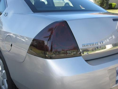 2006-2013 CHEVROLET IMPALA TAIL LIGHT PRECUT TINT OVERLAYS
