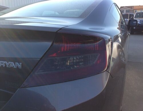 2012-2015 HONDA CIVIC COUPE TAIL LIGHT PRECUT TINT OVERLAYS