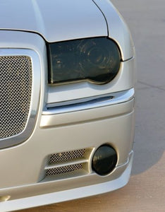 2005-2010 CHRYSLER 300C HEADLIGHT PRECUT TINT OVERLAYS