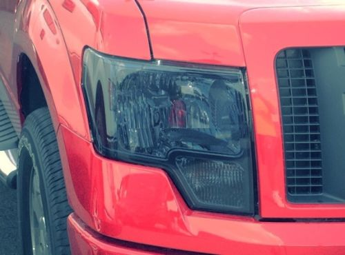 2009-2014 FORD F150 HEADLIGHT PRECUT TINT OVERLAYS