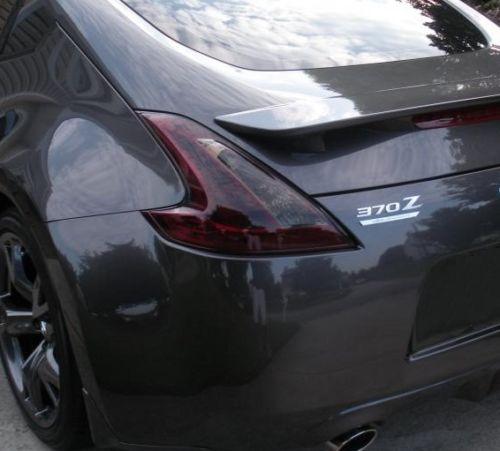 2009-2016 NISSAN 370Z TAIL LIGHT PRECUT SMOKE TINT COVER SMOKED OVERLAYS