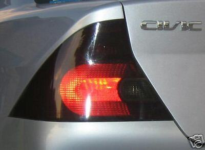 2001-2005 HONDA CIVIC COUPE TAIL LIGHT PRECUT TINT OVERLAYS