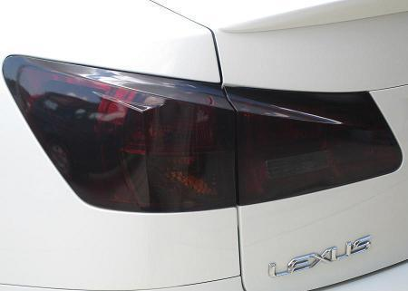2006-2013 LEXUS IS TAIL LIGHT PRECUT TINT OVERLAYS