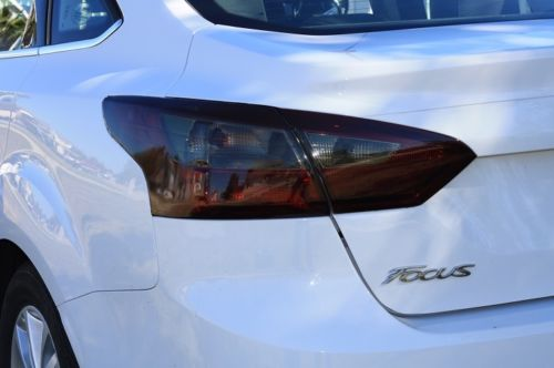 2012-2014 FORD FOCUS SEDAN TAIL LIGHT PRECUT TINT OVERLAYS