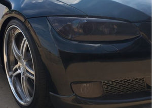 2007-2010 BMW E92 E93 3 SERIES COUPE HEADLIGHT PRECUT TINT OVERLAYS