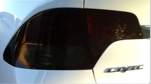 2006-2011 HONDA CIVIC SEDAN TAIL LIGHT PRECUT TINT OVERLAYS