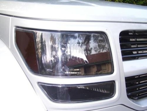 2007-2011 DODGE NITRO HEADLIGHT PRECUT TINT OVERLAYS