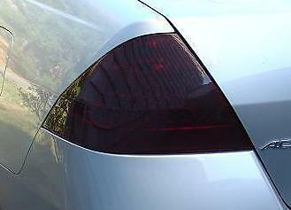 2006-2007 HONDA ACCORD SEDAN TAIL LIGHT PRECUT TINT OVERLAYS