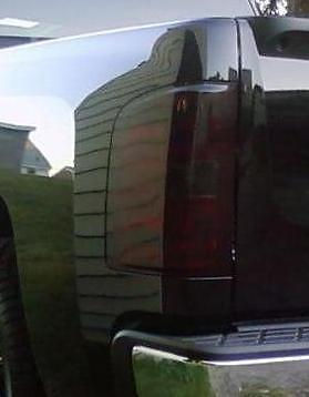 2007-2013 CHEVY SILVERADO TAIL LIGHT PRECUT TINT OVERLAYS