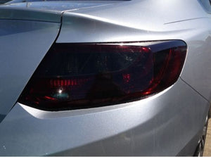 2013-2015 PRECUT VINYL TINT SMOKE OVERLAYS ACCORD COUPE 2DR TAIL LIGHT