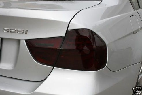 2009-2011 BMW 3 SERIES SEDAN TAIL LIGHT PRECUT TINT OVERLAYS