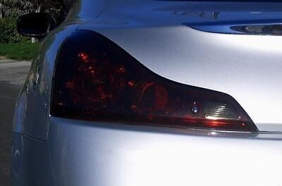 2008-2013 INFINITI G37 COUPE TAIL LIGHT PRECUT TINT OVERLAYS