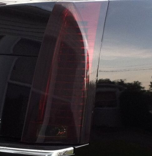 2008-2013 CADILLAC CTS SEDAN TAIL LIGHT PRECUT TINT OVERLAYS