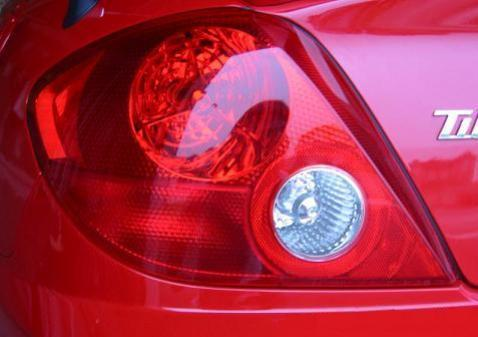 2003-2004 HYUNDAI TIBURON TAIL LIGHT TURN SIGNAL PRECUT TINT OVERLAYS