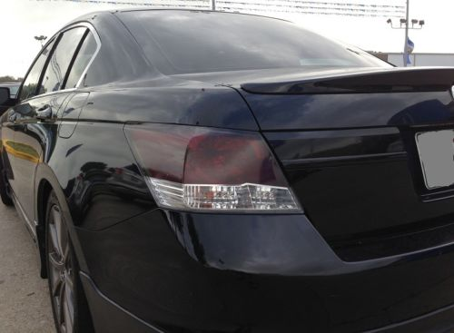 2008-2012 HONDA ACCORD SEDAN TAIL LIGHT w/REVERSE CUTOUT PRECUT TINT OVERLAYS