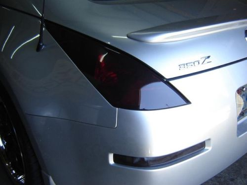 2003-2008 NISSAN 350Z TAIL LIGHT PRECUT TINT OVERLAYS