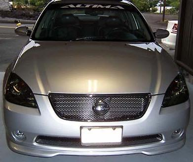 2002-2004 NISSAN ALTIMA HEADLIGHT PRECUT TINT OVERLAYS