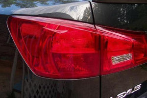 2006-2008 LEXUS IS 250/350 TAIL LIGHT TURN SIGNAL PRECUT RED TINT OVERLAYS