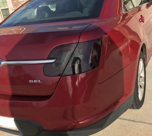 2010-2012 FORD TAURUS TAIL LIGHT PRECUT TINT OVERLAYS