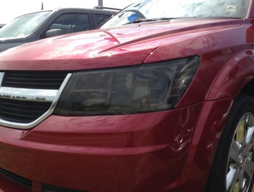 2009-2018 DODGE JOURNEY HEADLIGHT PRECUT TINT OVERLAYS
