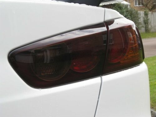 2008-2014 MITSUBISHI LANCER EVO TAIL LIGHT PRECUT TINT OVERLAYS