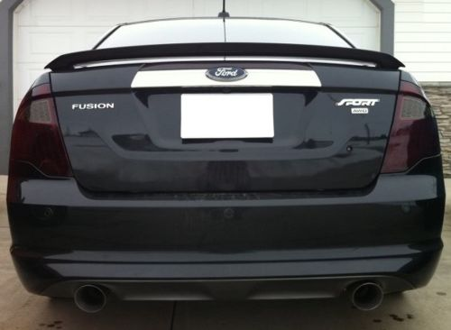 2010-2012 FORD FUSION TAIL LIGHT PRECUT TINT OVERLAYS