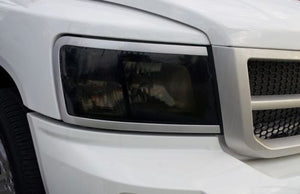 2008-2011 DODGE DAKOTA HEADLIGHT PRECUT TINT OVERLAYS
