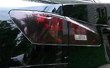 2008-2013 LEXUS IS F TAIL LIGHT w/REVERSE CUTOUT PRECUT TINT OVERLAYS