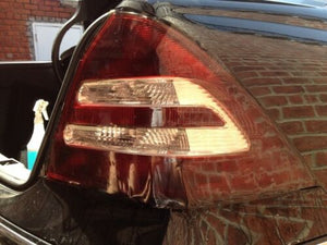 2001-2007 MERCEDES C-CLASS TAIL LIGHT PRECUT TINT OVERLAYS