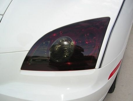 2004-2008 CHRYSLER CROSSFIRE TAIL LIGHT PRECUT TINT OVERLAYS