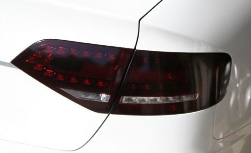 2009-2012 AUDI A4/S4 TAIL LIGHT /w CUTOUT PRECUT TINT OVERLAYS