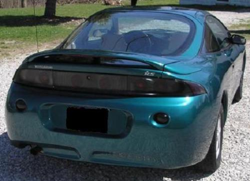 1995-1999 MITSUBISHI ECLIPSE TAIL LIGHT PRECUT TINT OVERLAYS