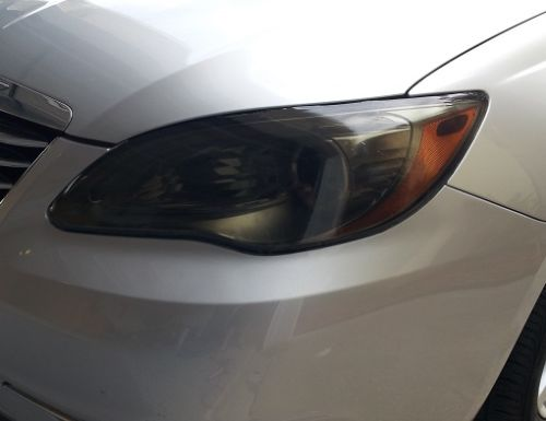2011-2014 CHRYSLER 200 HEADLIGHT PRECUT TINT OVERLAYS