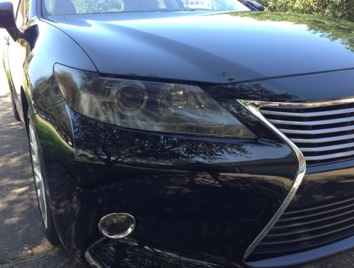 2013-2015 LEXUS ES 350 HEADLIGHT PRECUT TINT OVERLAYS