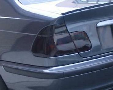 1998-2005 BMW 3 SERIES SEDAN TAIL LIGHT PRECUT TINT OVERLAYS